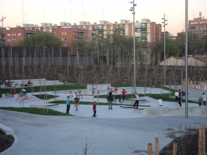 Pista de Skate en Arganzuela