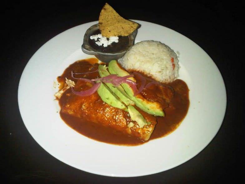 Enchilada en Mestizo