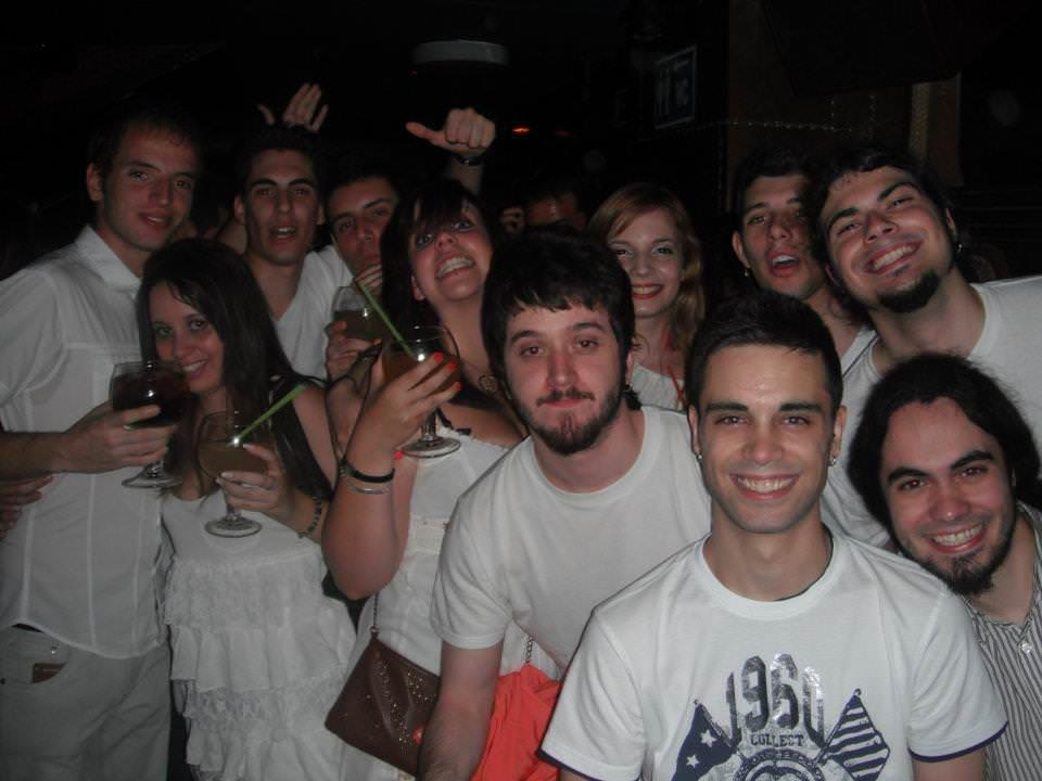 fiesta en madrid: