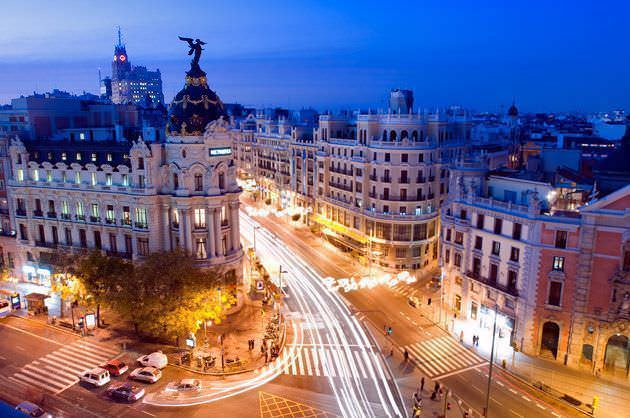 Madrid vistas