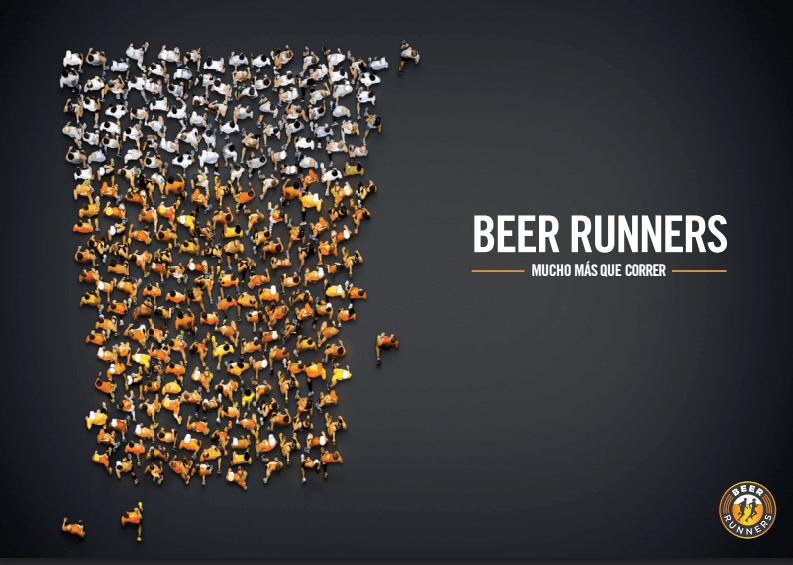 Cerveceros corriendo