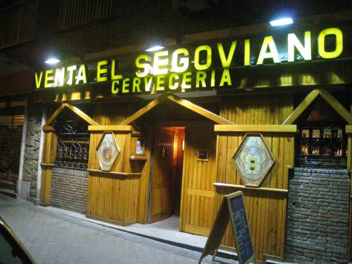 El segoviano entrada