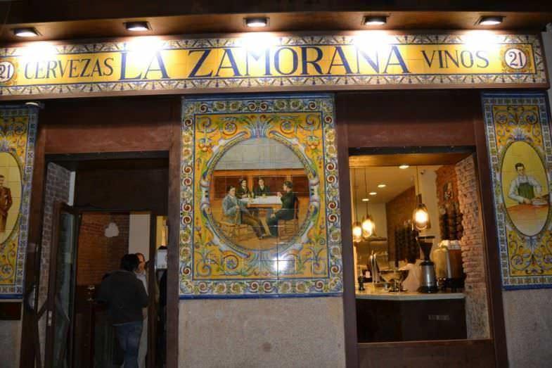 La Zamorana entrada