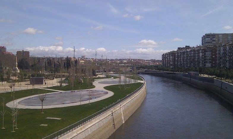 Madrid Río Panorámica