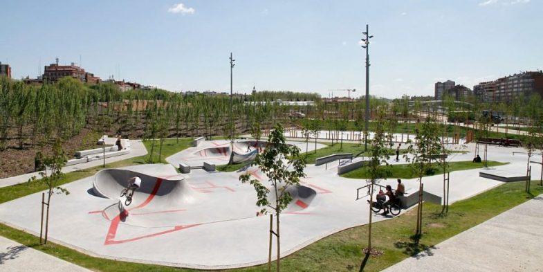 Skatepark Madrid Río