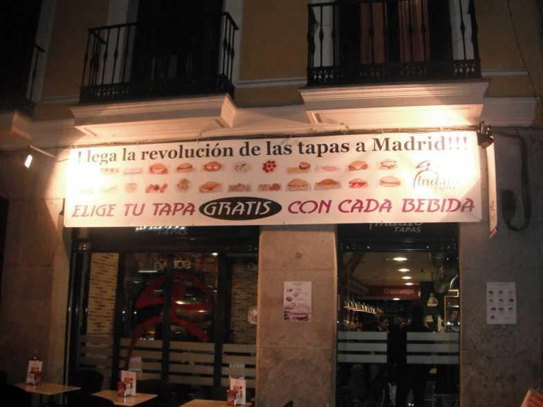 Entrada Índalo Madrid