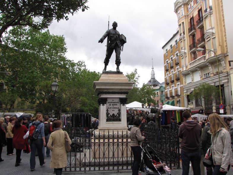 plaza Eloy rastro