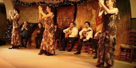 Café de Chinitas - Restaurante Tablao Flamenco - Un buen día en Madrid