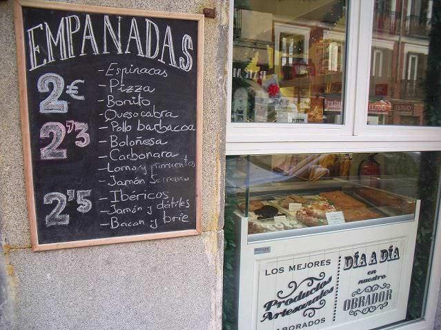 Empanadas Madrid