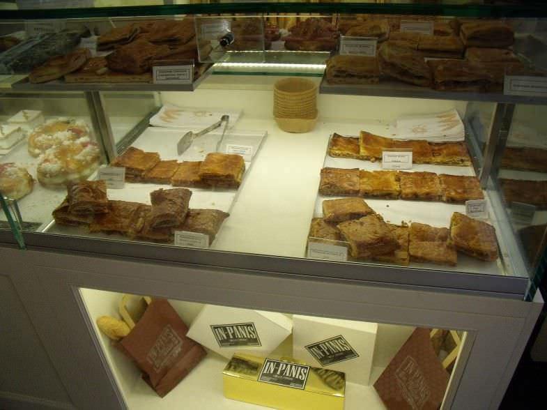 Variedad de empanadas en In-panis