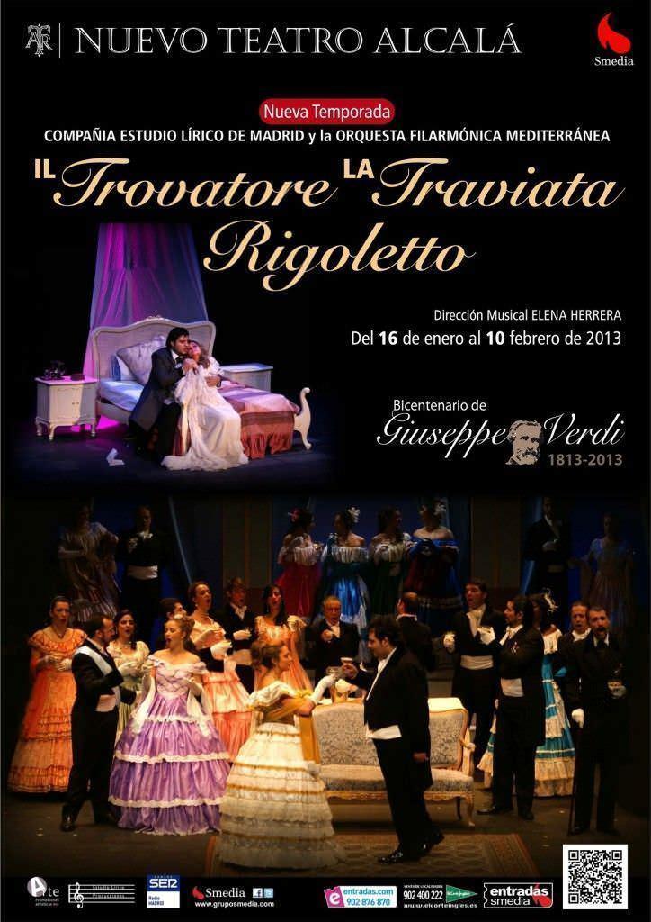 Il Trovatore, La Traviata y Rigoletto - Un buen día en Madrid