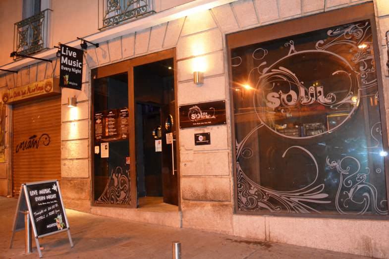Puerta de la Sala Soul