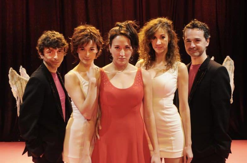 Eva's show en el teatro Alfil - Un buen día en Madrid