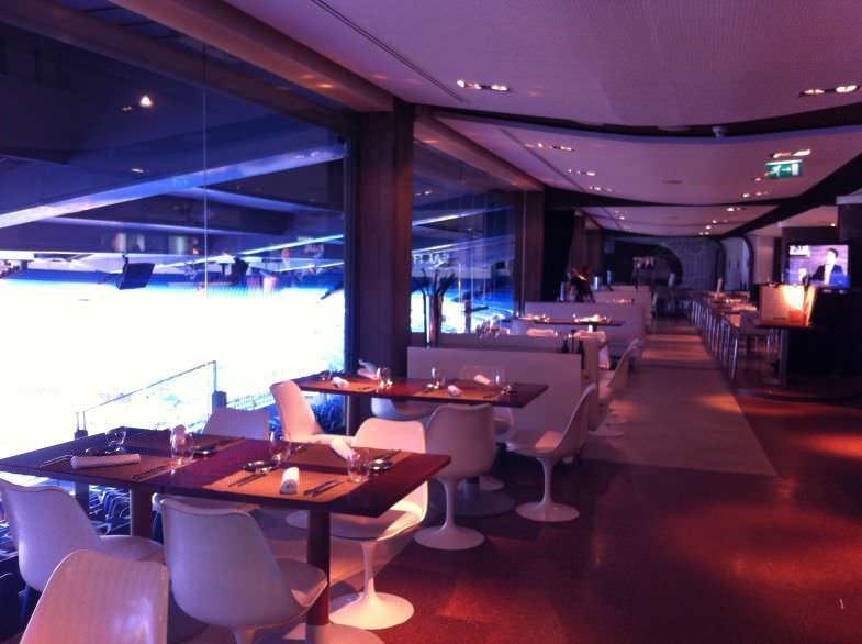 Salón de Real Café Bernabéu