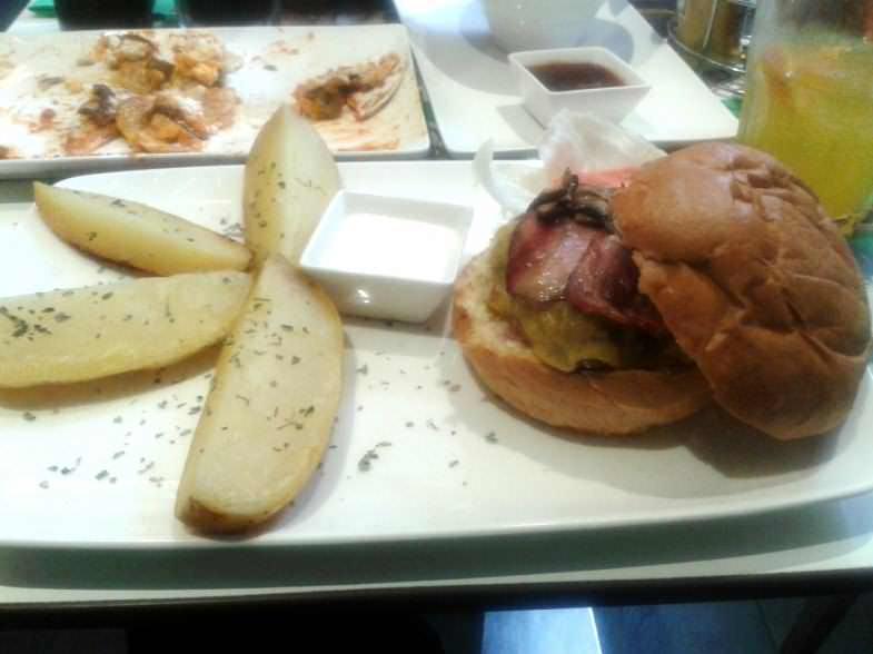 Hamburguesa The Burger Lobby