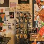 La Fugitiva, librería cafetería - Un buen día en Madrid