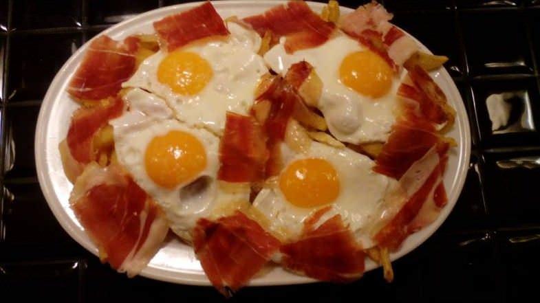 Huevos Rotos sin Gluten
