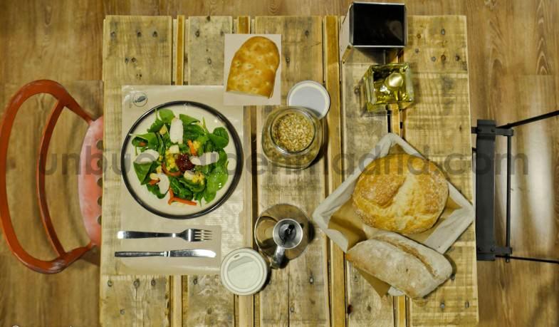 ¡Comida sana y saludable en Arúgula!