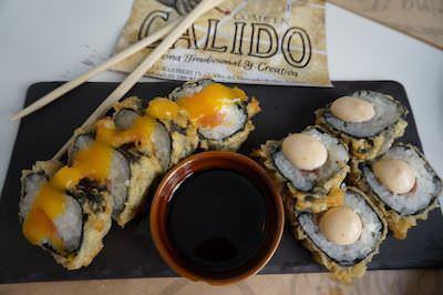 Rolls de Sushi variado