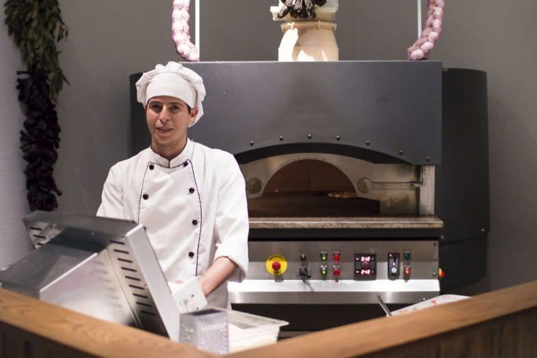 Horno para pizzas industrial