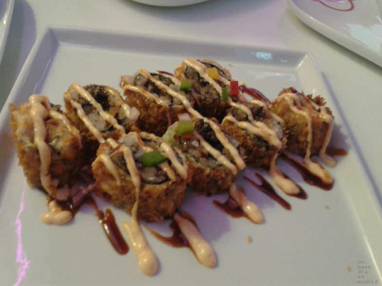 Rolls Miss Sushi Madrid