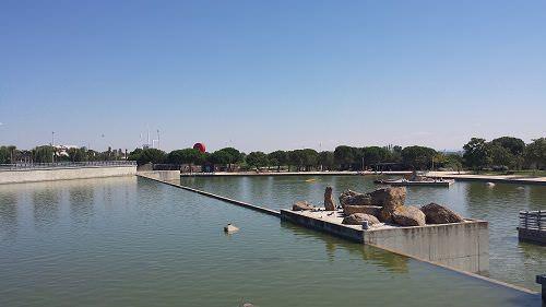 Lago parque Juan Carlos I