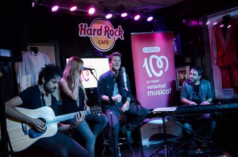 Dani Martín en Hard Rock
