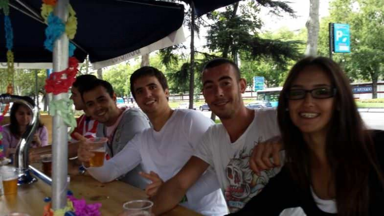 Nosotros disfrutando de Beerbike