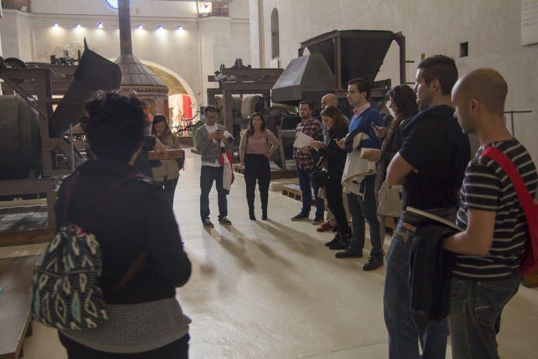 Fuimos unos pocos los bloggers afortunados de poder hacer esta visita