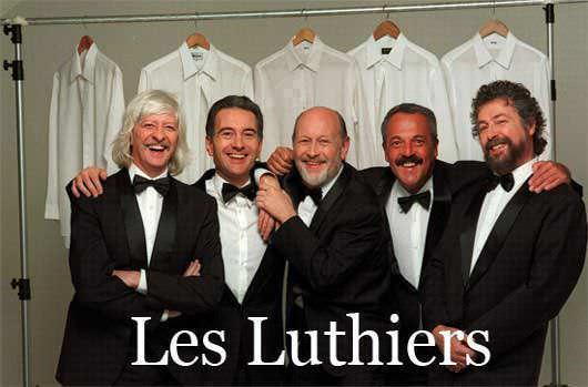 de congresos madrid les luthiers: