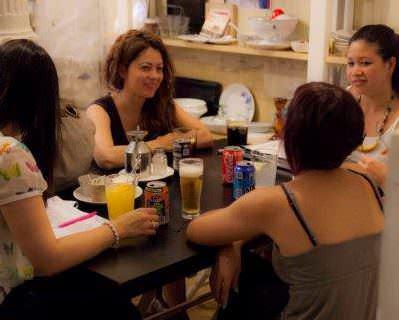 English café Madrid