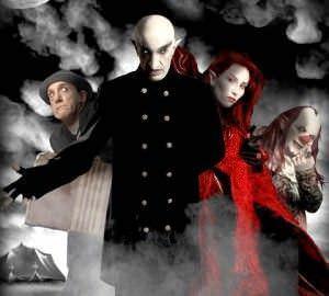 Nosferatu con algunas de sus bestias