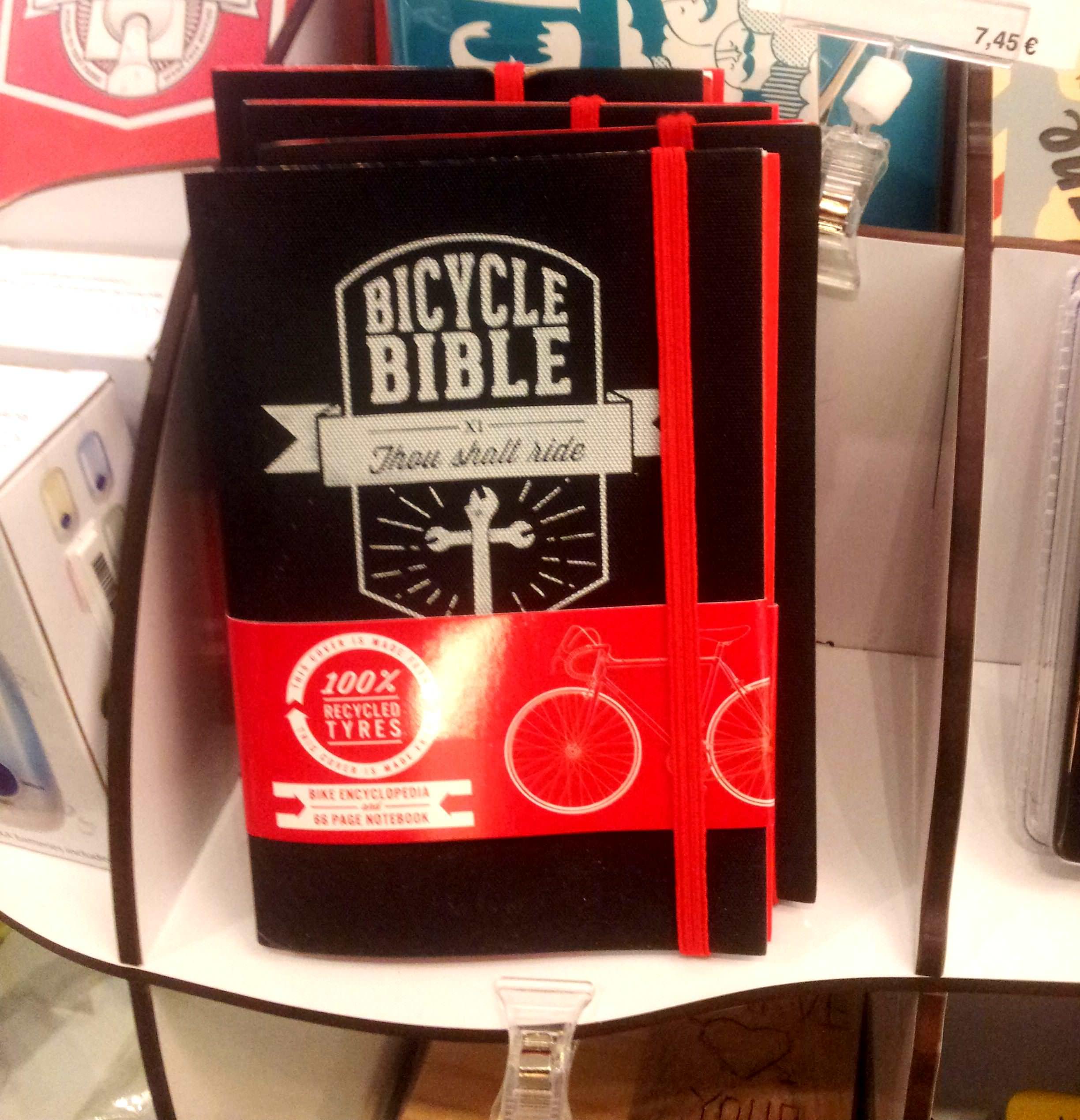 Biblia del Ciclista de Luckies