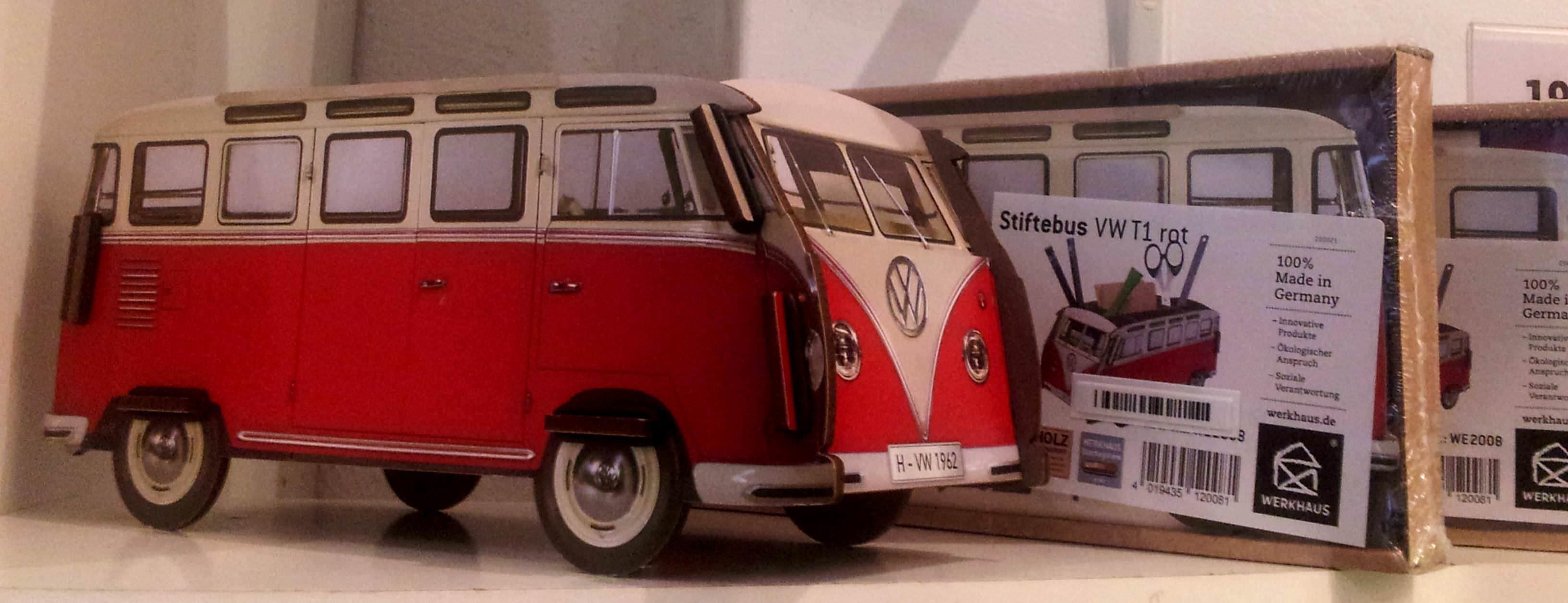 Organizador de Escritorio Furgoneta Volkswagen de Werkhaus