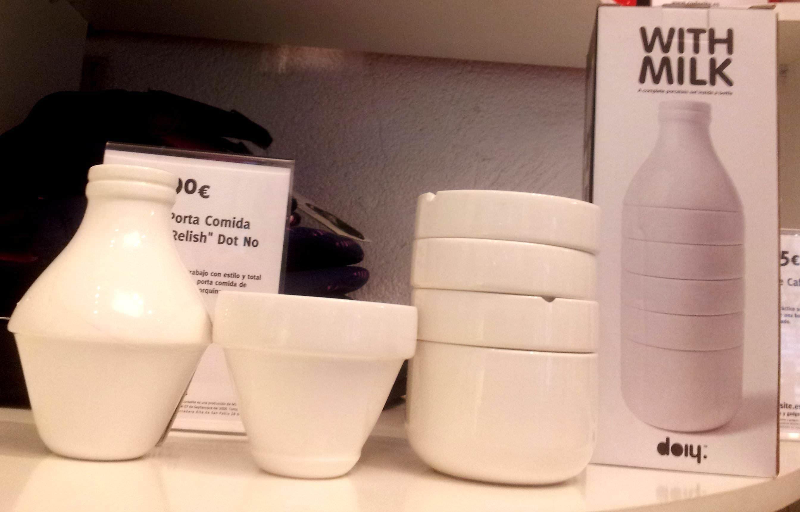 "Juego de Café ""With Milk"" de Doiy"