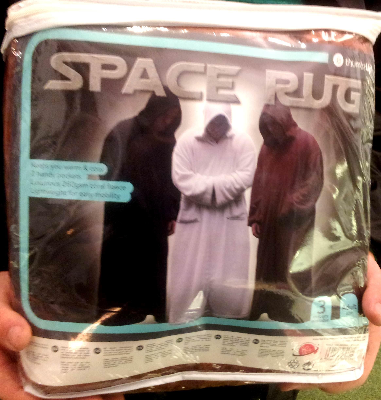 Space Rug: la batamanta para maestros Jedi, de Thumbs Up!