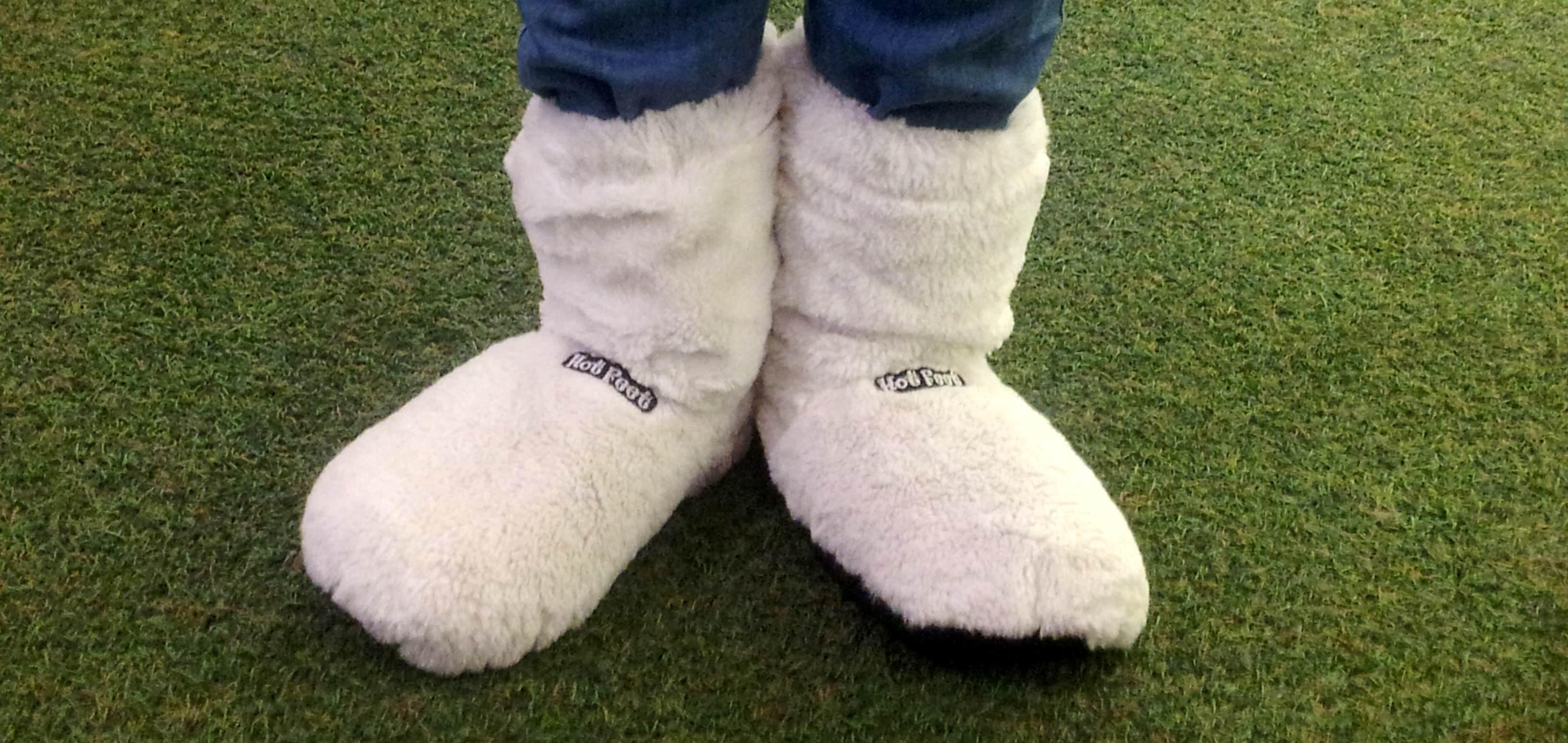 Hot Bootz para microondas: mantén tus pies calientes