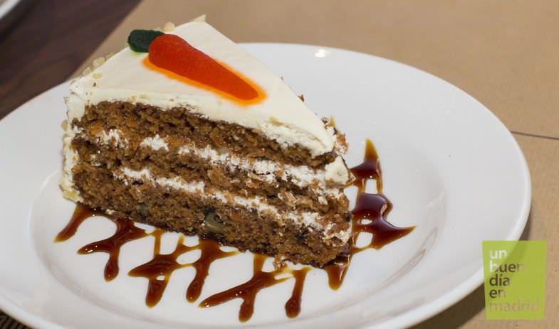 New York Burguer   Carrot Cake