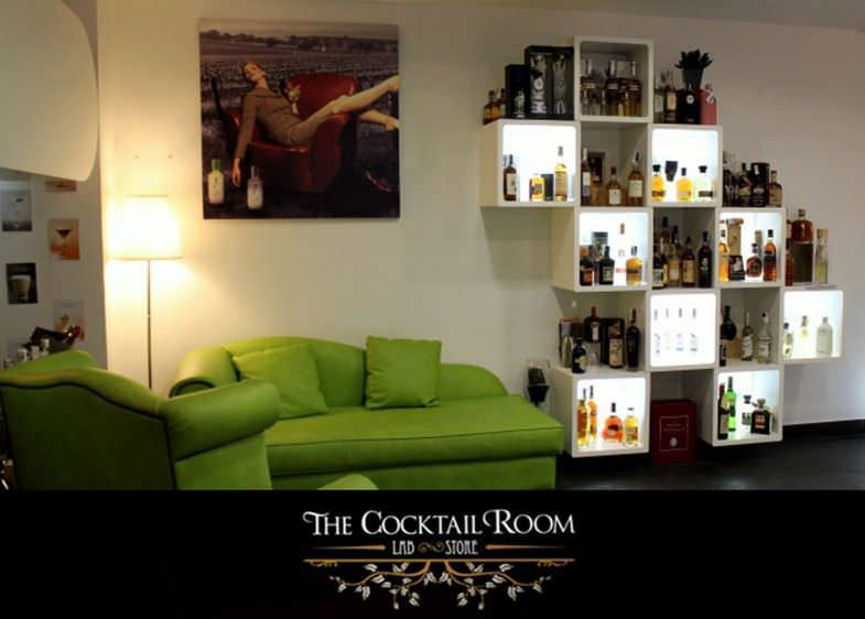 Interior de la tienda de The Cocktail Room