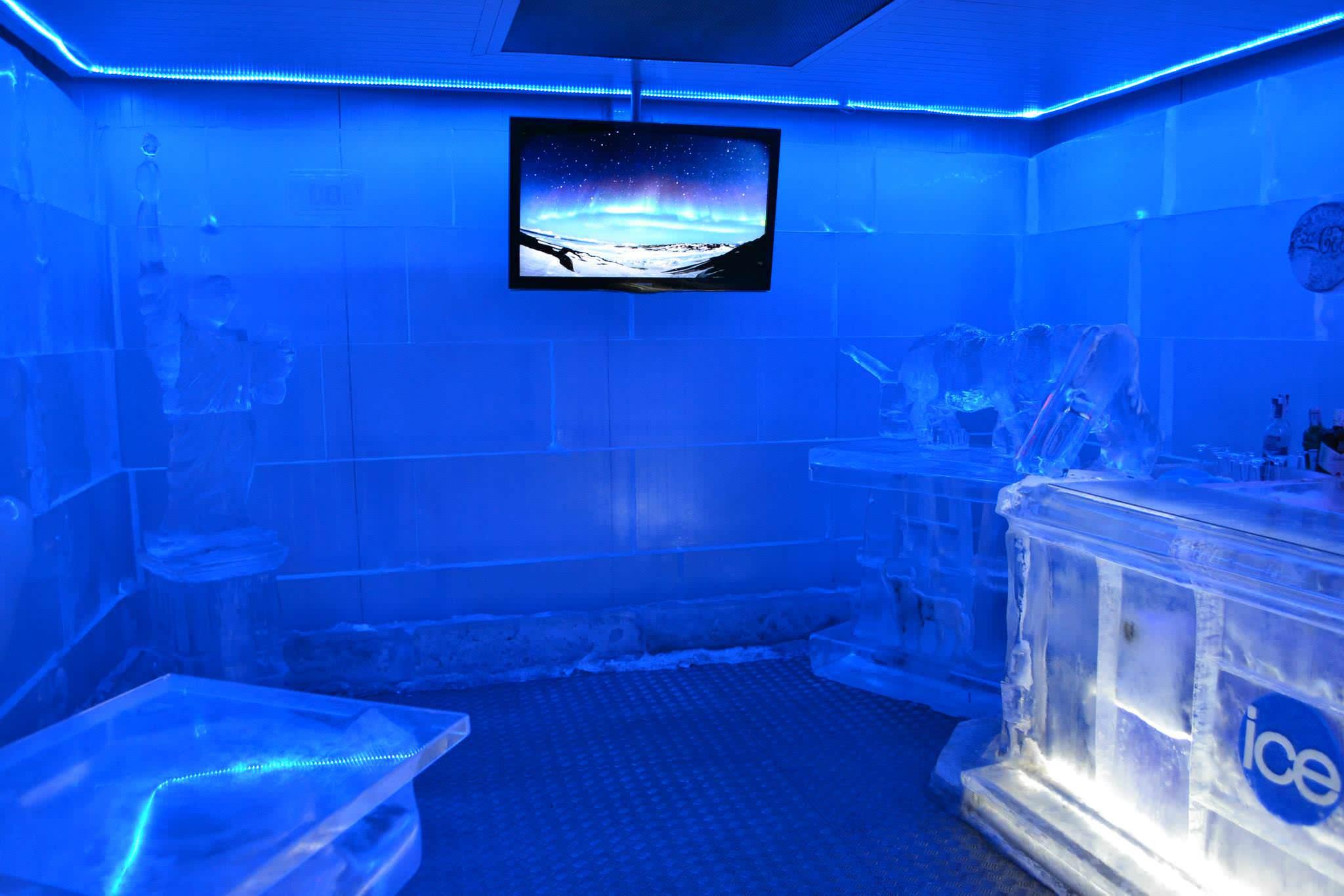 Interior del Ice Bar
