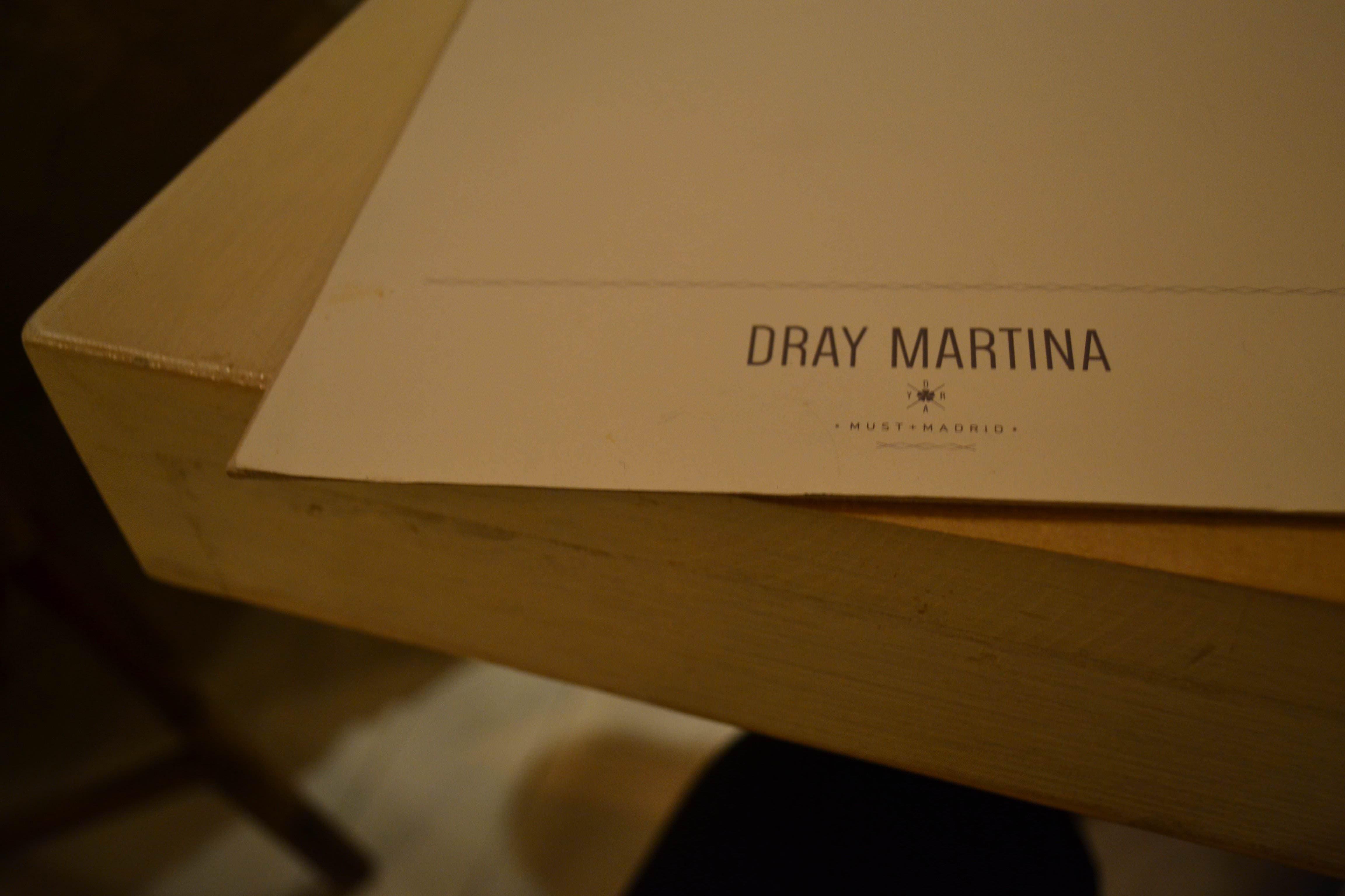 Detalle de la carta de Dray Martina
