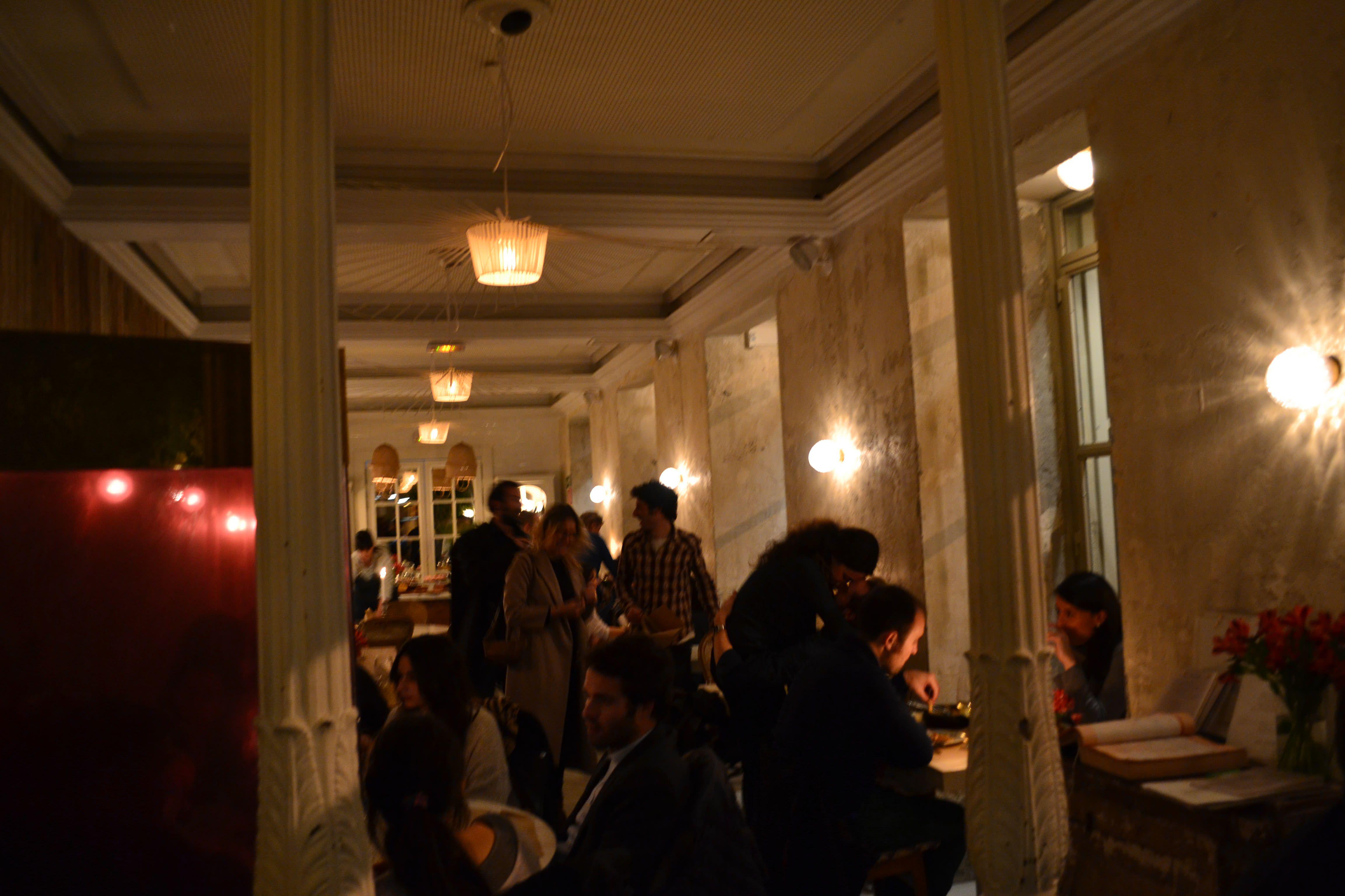 Dray Martina: interior del restaurante