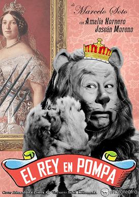 """""""Cartel El Rey en Pompa"""""""