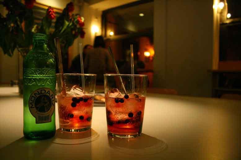 Bebida de sirope de Saúco