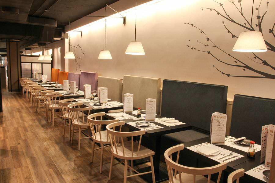 Sumo restaurante japon s un buen d a en madrid - Decoracion locales hosteleria ...