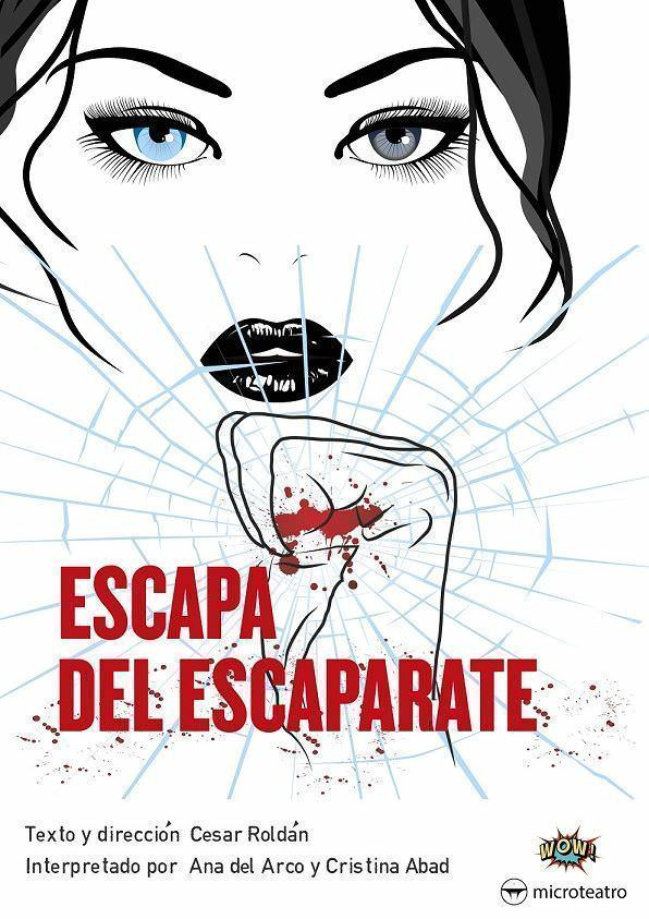 "Cartel ""Escapa del Escaparate"""