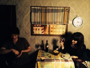 """Escena del microteatro """"Por mis fogones"""": Cena para dos."""