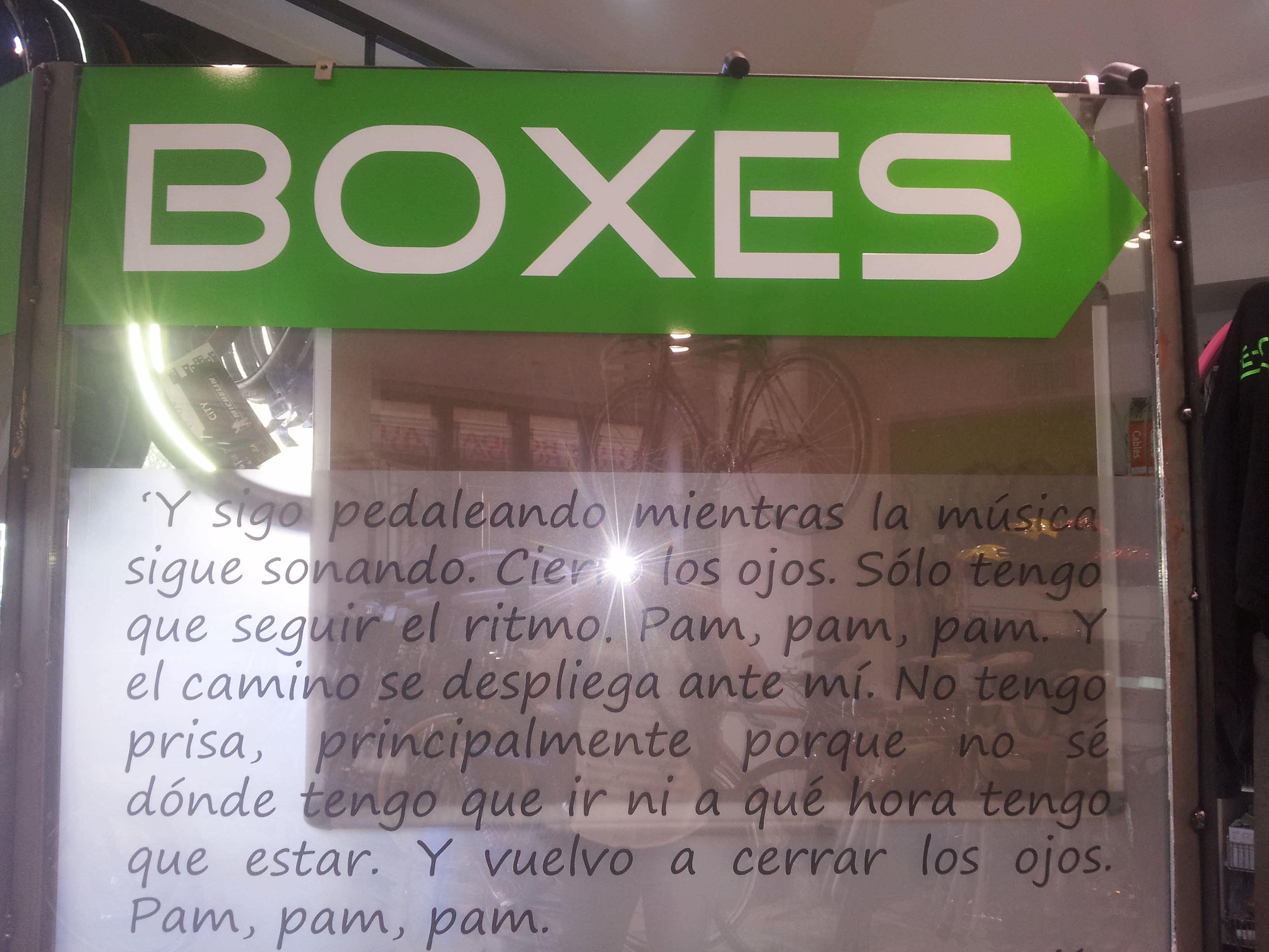 Boxes con un poco de filosofía