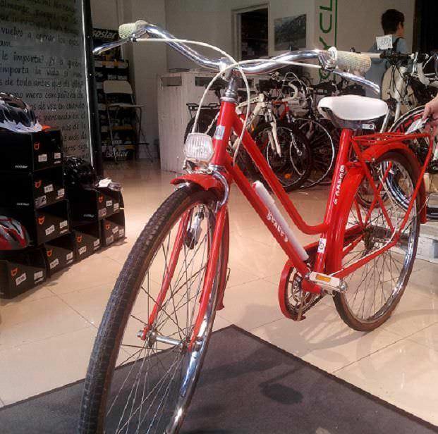 Una bici vieja... ¡como nueva!