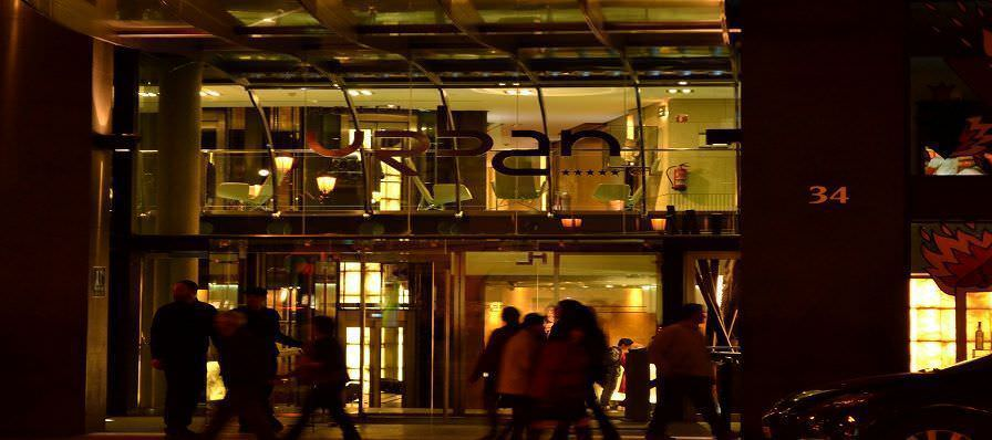 Restaurante europa dec y bar glass hotel urban for Design hotel urban madrid